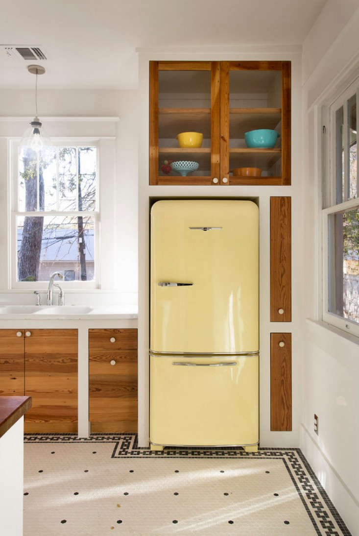 Trend Alert: 13 Kitchens with Colorful Refrigerators - Remodelista