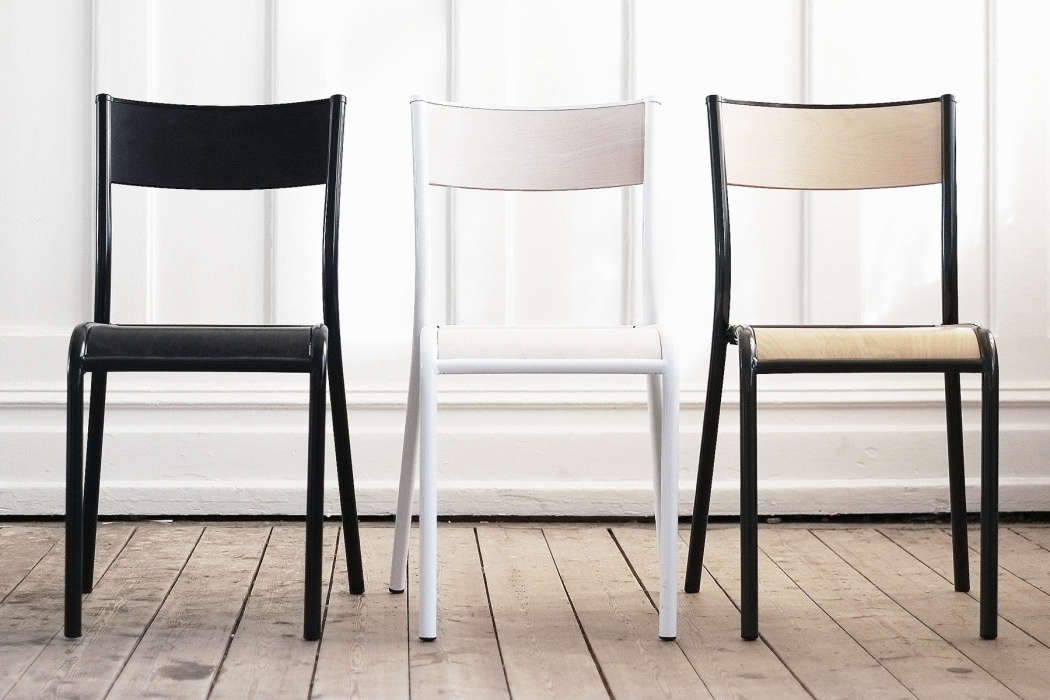 French Company Label Edition Makes A Vintage Inspired School Chair Called  The Chaise 510.