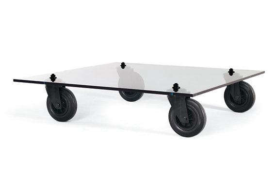 Nice Above: The Tavolo Con Ruote Coffee Table On Wheels Is $2,080 At Design  Within Reach.