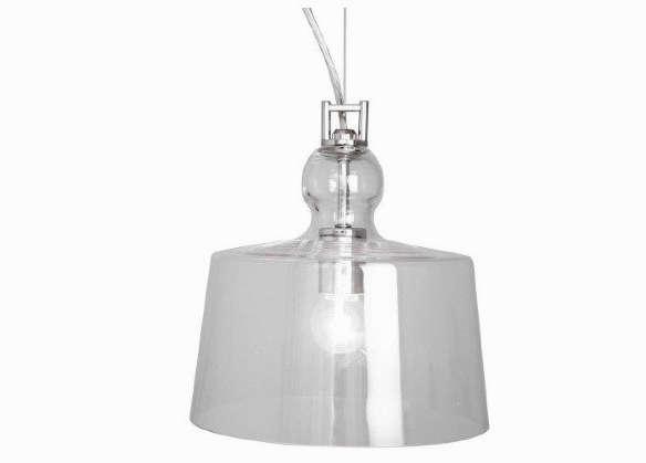 Home Decorators Collection 1 Light Ceiling Clear Glass Bowl Pendant