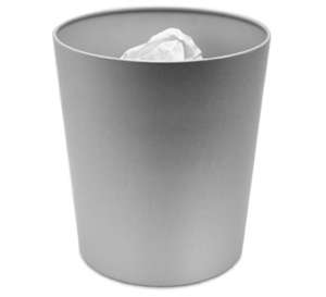Genial Above: Simple And Compact, The Muji Aluminum Trash Can Is 9.75 Inches Tall  And Is $13.50 At MoMA Store.