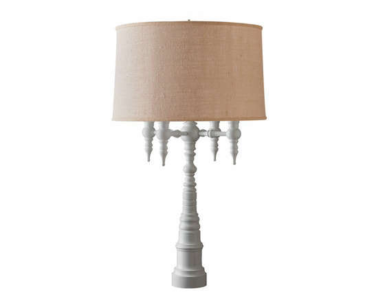 4 arm candelabra lamp