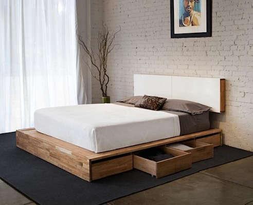 Lax Storage Platform Bed