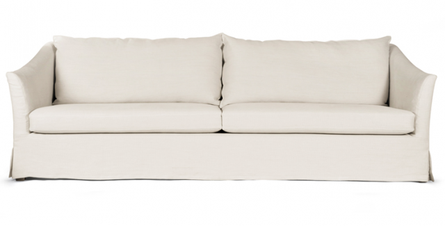 10 Easy Pieces LinenSlipcovered Sofas Remodelista