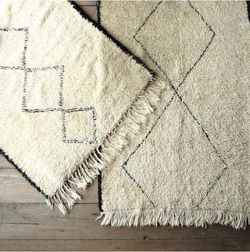 Lovely Found Moroccan Berber Rugs