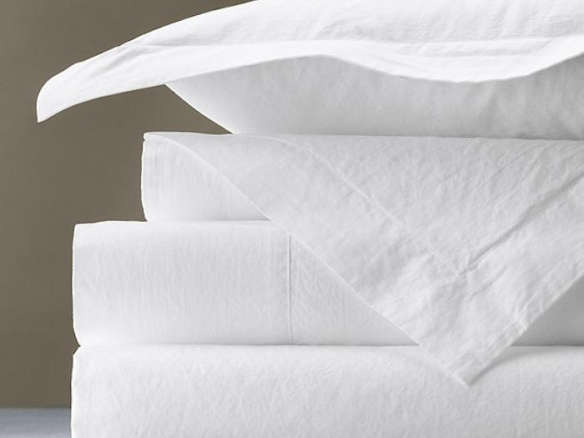 what is percale sheets Italian Vintage Washed 464 Percale Sheet Set what is percale sheets
