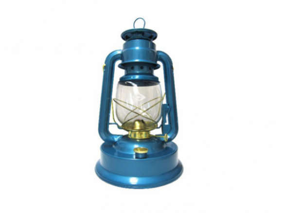 V Amp O Large Tank Camper Brass Trim Oil Lantern