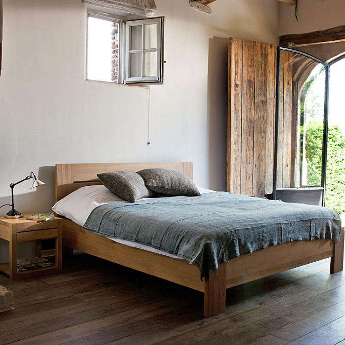 Trend Oak Azur Bed u Queen