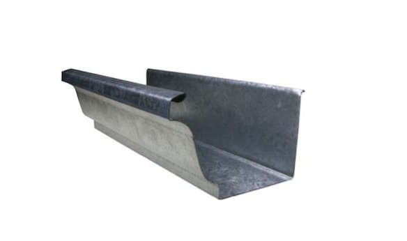 K Style Galvanized Gutters