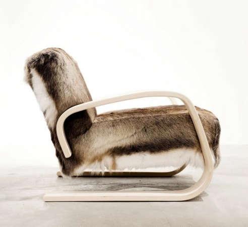 Alvar aalto armchair 400 for Alvar aalto chaise lounge