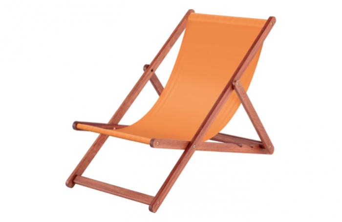 alexander rose fsc karri deck chair