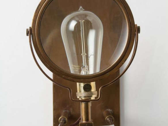 Wall Sconce Magnifying Glass : Magnifying Glass Sconce