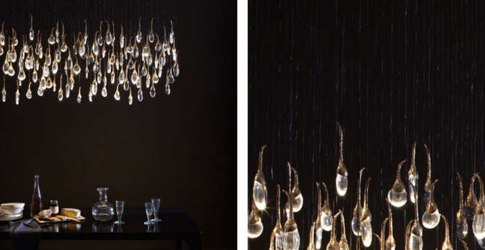 Rectangular seed cloud chandelier aloadofball Choice Image