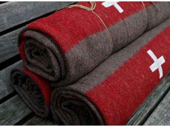 4b41ba8a80 Swiss Army Wool Blankets - Pair