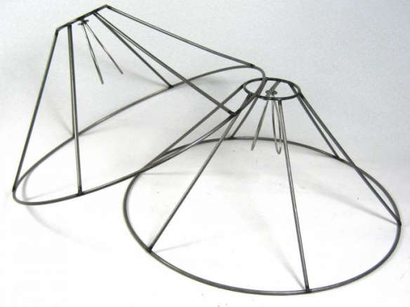 Lamp shade wire frame greentooth Choice Image