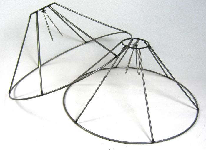 Lamp shade wire frame 700two lampshade frames etsyg greentooth Choice Image