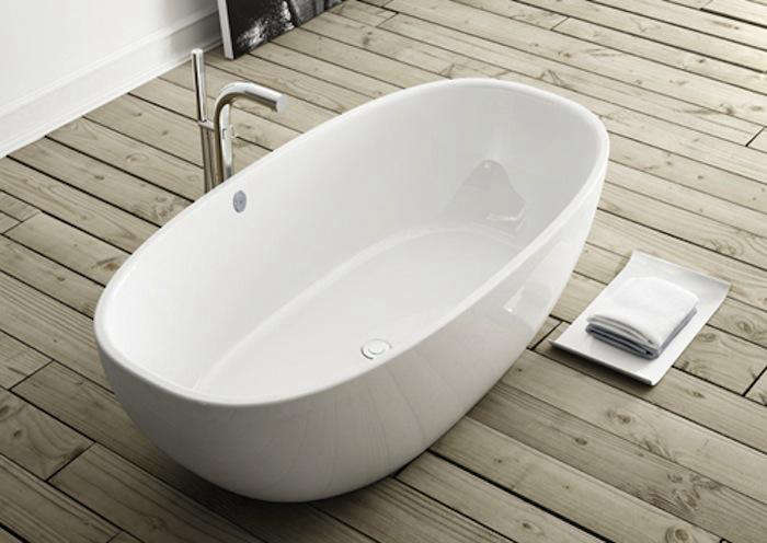freestanding contemporary bathtubs. victoria \u0026 albert barcelona contemporary double-ended tub freestanding bathtubs ,