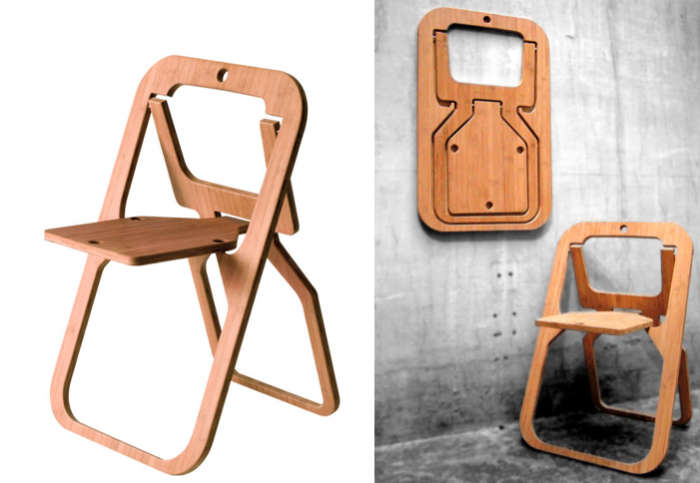 Wooden Folding Chairs Interior Design - Collapsible chairs
