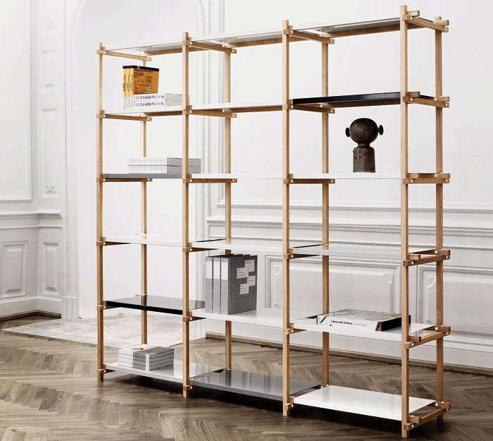 Woody Shelving System