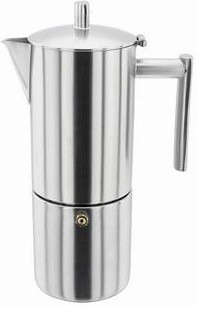 Coffee Maker On Hob : Coffee & Tea: Stainless Steel Espresso Makers - Remodelista