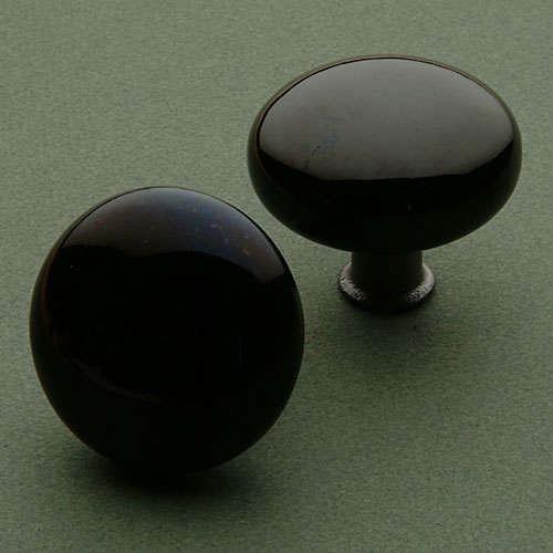 Hardware: Classic Black Door Knobs - Hardware: Classic Black Door Knobs - Remodelista