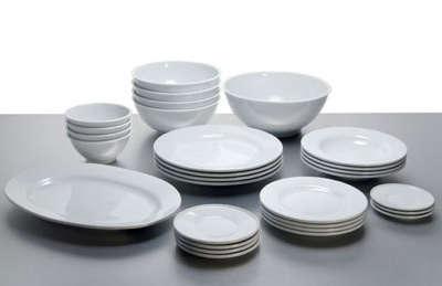 sc 1 st  Remodelista & Platebowlcup Table Set By Jasper Morrison