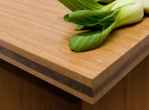 how to join bamboo countertops