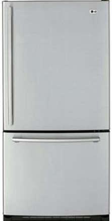 Lg Stainless Bottom Freezer Refrigerator