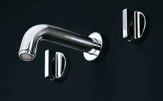 10 easy pieces modern wall mounted bath sink faucets. Black Bedroom Furniture Sets. Home Design Ideas