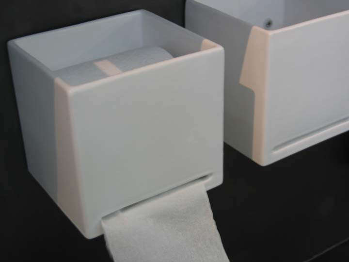 Recessed Toilet Roll Holder Ceramic