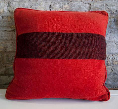 Decorative Pillows Hudson Bay : Accessories: Blanket Pillows from Brimfield in Chicago - Remodelista