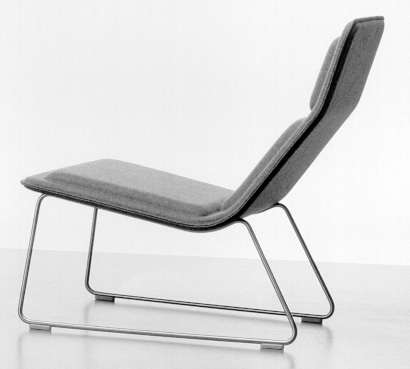 Pleasing Low Pad Chair By Jasper Morrison Inzonedesignstudio Interior Chair Design Inzonedesignstudiocom