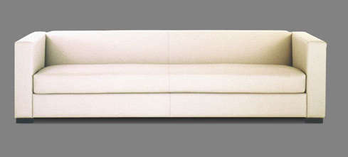 ... Admired The Movie Sofa (shown Below) In CB2u0027s San Francisco Outpost; It  Has A Similar Low Slung Profile And A Simple, Off White Heavy Cotton  Slipcover.