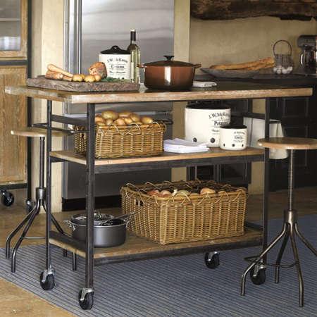 Furniture: Rolling Kitchen Island Roundup - Remodelista