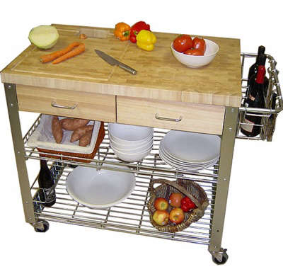 stadium kitchen cart