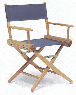 Low Back Directors Chair