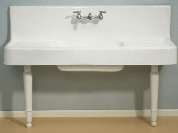 Clarion Farmhouse Drainboard Sink U2013 On Legs