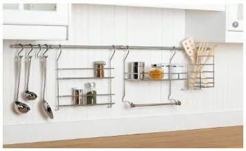 Kitchen Open Rail Storage Systems Remodelista