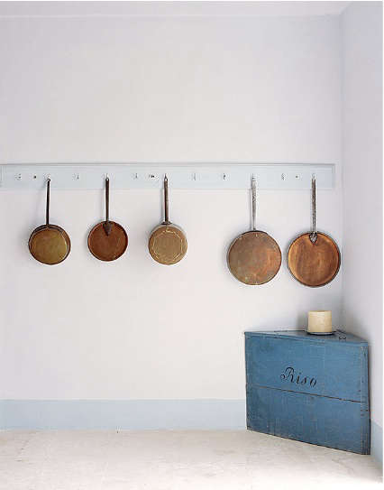 copper pots as kitchen decor - Copper Pots