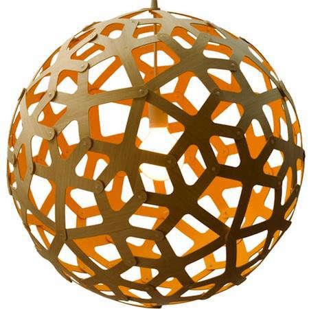David Trubridge Coral Pendant
