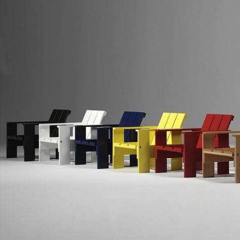 Each Chair Is Supplied With A Chip, Number, And Matching Certificate And Is  Produced By The Rietveld Foundation.