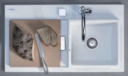 Kitchen: New Starck K Kitchen Sink by Duravit - Remodelista