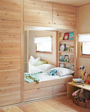 built into wall bed. Contemporary Wall Children S Rooms Built In Beds And Bunks Remodelista To Into Wall Bed