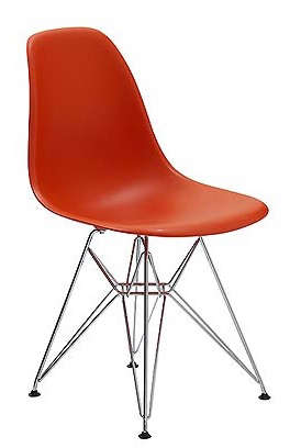 Superieur Eames Molded Side Chair U2013 Red