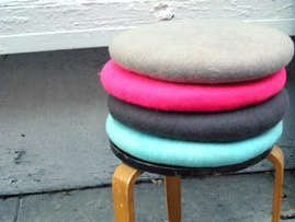 Accessories Hungarian Felt Cushions Remodelista