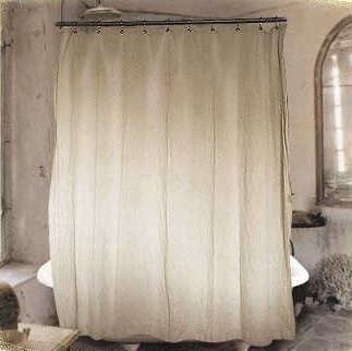 Wonderful Hemp Shower Curtain