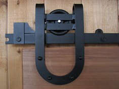 Superbe Above: Barn Door Hardware By Better Barns Includes Small And Mini Barn Door  Rollers, Suitable For Interior Residential Doors.