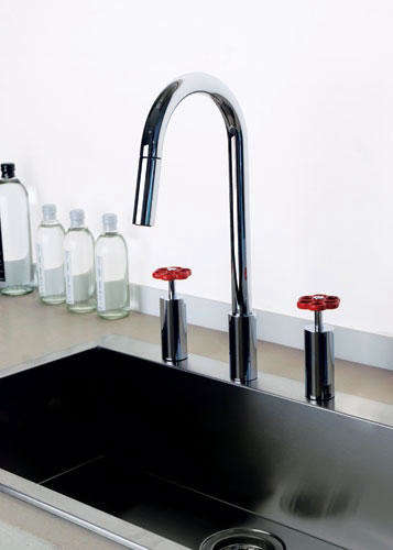 Faucets & Fixtures: Gessi Oxygene Hi Tech Faucet - Remodelista