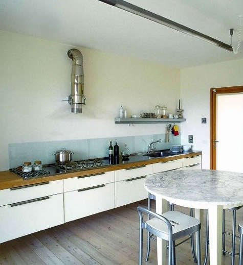 kitchen: glass backsplash - remodelista