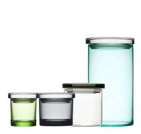 iittala glass jar. Black Bedroom Furniture Sets. Home Design Ideas